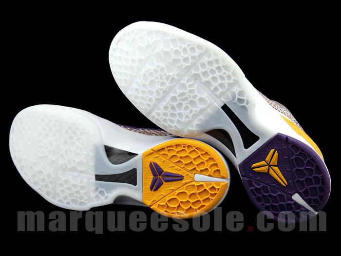 promo code 3af63 0050e Nike Zoom Kobe VI (Lakers 3D)